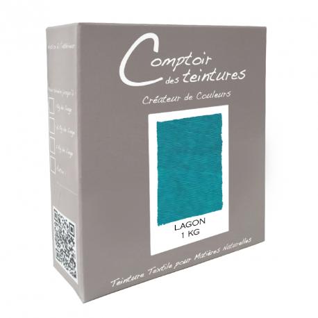 Teinture Idéal mélange pour 1 kg Lagon