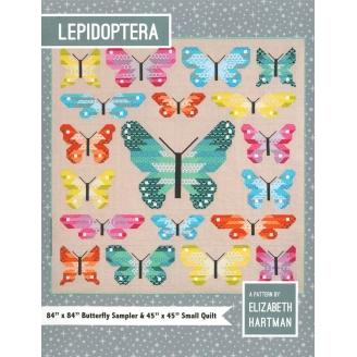 Les papillons - Modèle de Patchwork d'Elizabeth Hartman