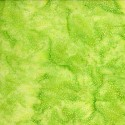 Tissu batik vert lime pétillant