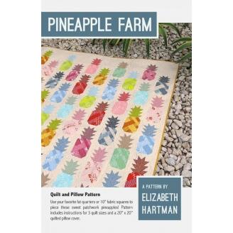 Les Ananas (Pineapple farm) - Modèle de patchwork d'Elizabeth Hartman
