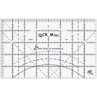 Mini Quick Curve Ruler© - Mini Règle pour la découpe des courbes