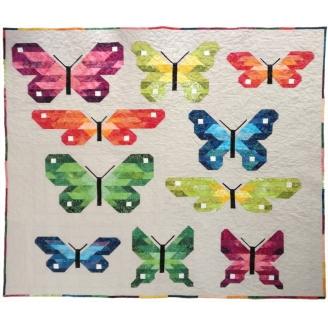 Les papillons - Modèle adapté par Au fil d'Emma