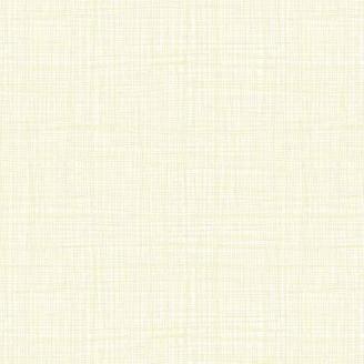 Tissu imprimé écru Vanille effet tissage