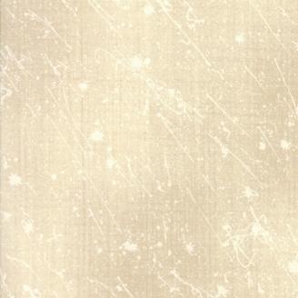 Tissu patchwork tâches de peinture écrues fond crème - Aubade Song to the Dawn de Moda