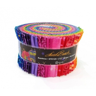 Jelly roll de Laurel Burch - Arc-en-ciel