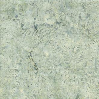 Tissu batik herbes grises