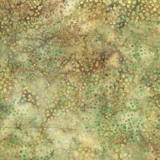 Tissu batik Sous-bois pétillant