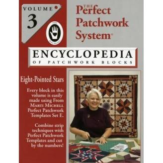 Encyclopédie des blocs de patchwork, Volume 3 Etoiles à 8 branches
