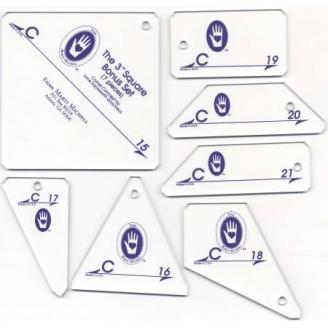 Set C - Gabarits pour patchwork de Marti Michell