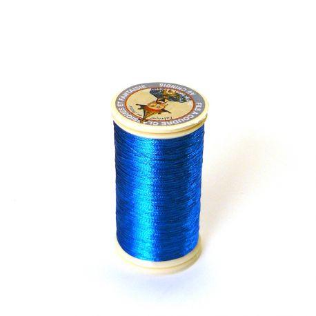 Fil métallisé n°40 Au Chinois - Turquoise 280