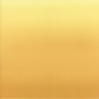 Tissu imprimé dégradé jaune (hauteur photo = 55 cm)