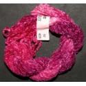 Chenille de soie rose fuchsia 35