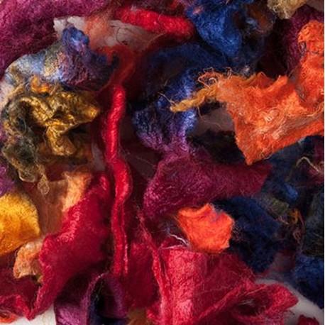 Silk Flats & Curls, rouleaux de soie - Harlequin