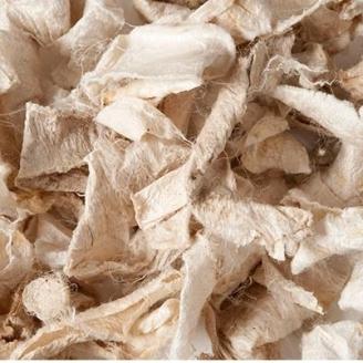 Silk Flats & Curls, rouleaux de soie - Ecru à teindre