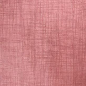 Tissu imprimé rose ballerine effet tissage