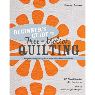 Beginner's Guide to Free-motion Quilting (livre en anglais)_