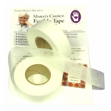 Intissé thermocollant en bande (Fusible tape) - rouleau de 27 m