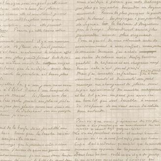 Tissu imprimé parchemin de Vincent Van Gogh