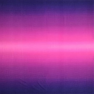 Tissu imprimé dégradé prune/fuchsia - Gelato