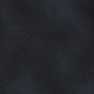 Tissu patchwork gris foncé à pointillés - Kyoto collection