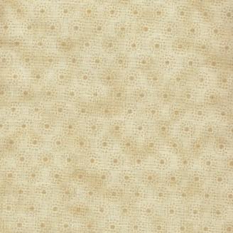 Tissu patchwork minis soleil beiges - Winter time
