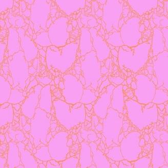Tissu patchwork Tula Pink - créatures de pierre fond fuchsia - Spirit Animal
