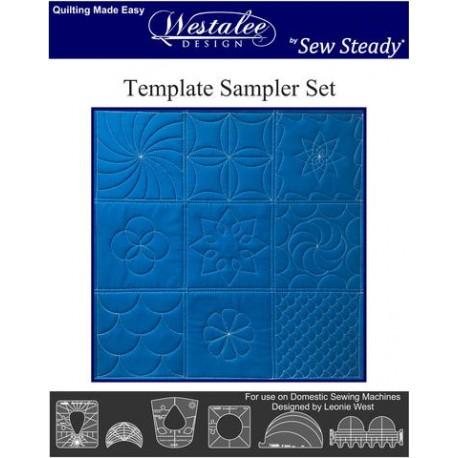 Set de 6 motifs différents - Règle à quilter Westalee