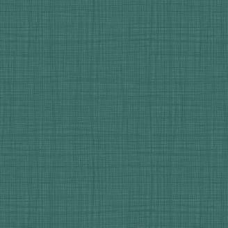 Tissu imprimé Bleu Pétrole effet tissage