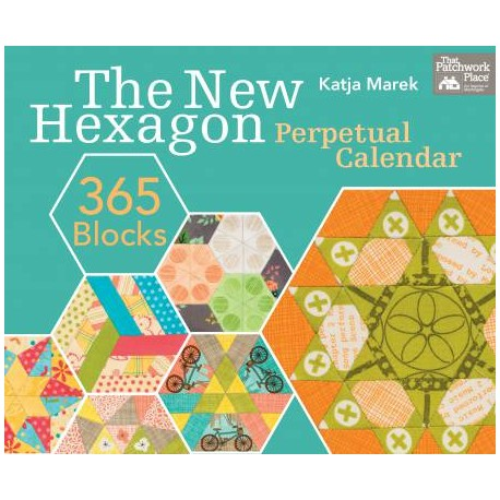 The New Hexagon : 365 blocks - Calendrier perpétuel en anglais
