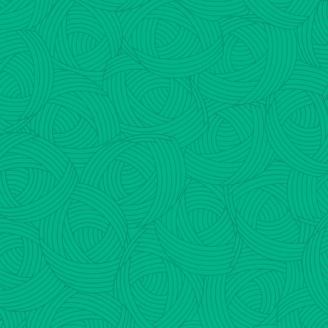 Tissu patchwork Pelote vert jade - Lola Textures