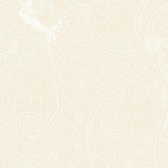 Tissu patchwork Sirène blanche fond écru - Diving Board d'Alison Glass