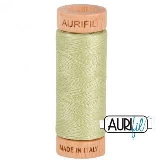 Fil de coton Mako 80 Aurifil - Vert Tilleul 2886
