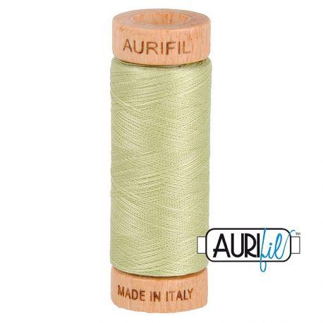 Fil de coton Mako 80 Aurifil - Vert Tilleul