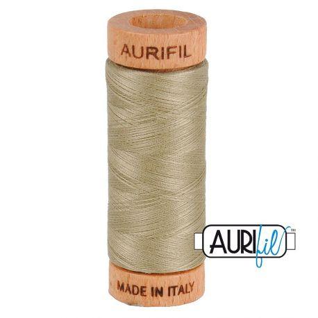 Fil de coton Mako 80 Aurifil - Mastic 2900