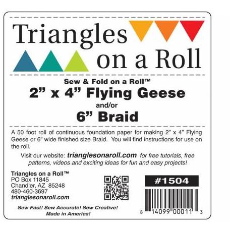 Stabilisateur pour Vol d'oies et chevrons - Triangles on a roll