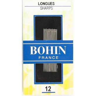 Aiguilles à coudre longues n°12 de Bohin