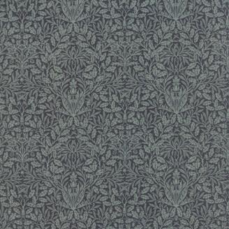 Tissu patchwork floral bleu pétrole - reproduction de William Morris
