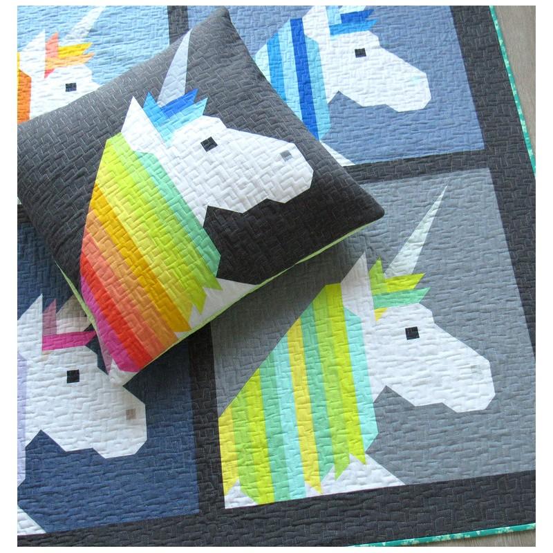 lisa la licorne mod le de patchwork d 39 elizabeth hartman au fil d 39 emma. Black Bedroom Furniture Sets. Home Design Ideas