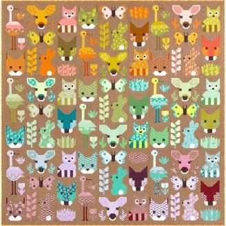 Charmant désert (Delightful desert) - Modèle de patchwork d'Elizabeth Hartman (en anglais)