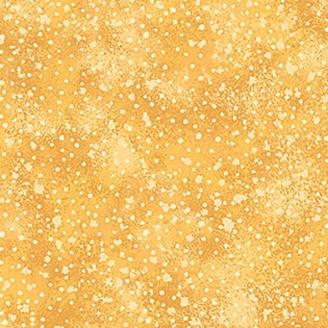 Tissu patchwork jaune moucheté - Artisan Spirit Water Garden
