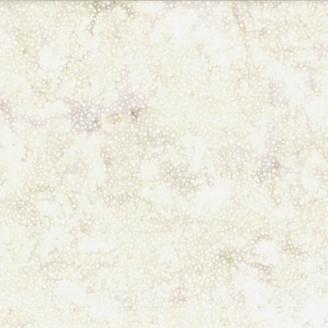 Tissu batik écru pétillant