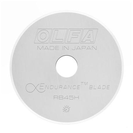 Lame de cutter rotatif de 45 mm Olfa - Endurance blade