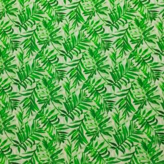 Tissu patchwork fougères vertes - Isle