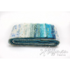 Bandes de tissus batiks Bali Poppy - Bleu Beach Glass