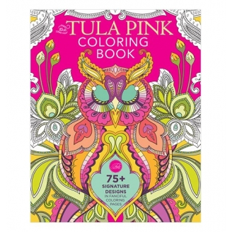 Livre de coloriage The Tula Pink Coloring Book