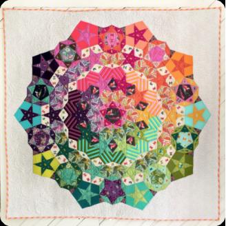 Tula Nova par Tula Pink, modèle et gabarits de patchwork