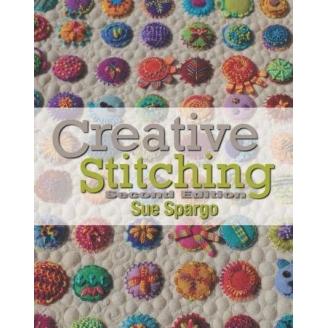 Creative Stitching - Sue Spargo (livre en anglais)