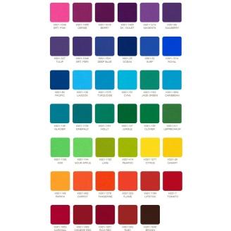 Charm pack de tissus unis Kona - New Classic Palette