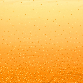 Tissu dégradé Confetti Jonquille - Ombre Confetti Metallic par V&Co