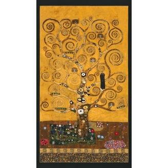 Panneau de tissu Gustav Klimt - L'arbre de vie